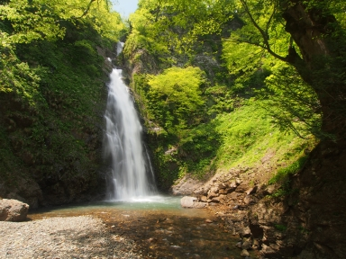 新潟県糸魚川市 不動滝