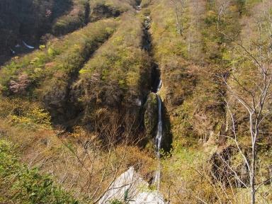 新潟県妙高市 惣滝 ソーメン滝