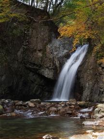大芦渓谷 大滝