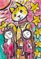 3猫のいる絵 (16)