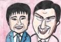 1オードリーは、若林正恭と春日俊彰によるお笑いコンビ