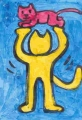 4猫の迷画猫キース・ヘリング (5)