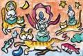 4猫のいる絵マイケルルー (2)