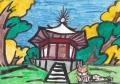 4猫のいる絵 興福寺北円堂(5)