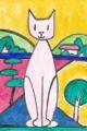 4猫のいる絵元絵ロジェボナフェ (5)