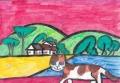 4猫のいる絵ロジェ・ボ4ナフェ (3)