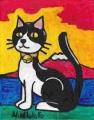 4猫と富士 (2)