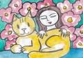 4猫のいる絵 (15)