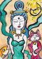 4猫のいる絵 (2)