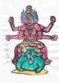 3奈良仏像館五大明王西方 - 大威徳明王 (1)