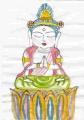 2観自在菩薩坐像