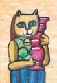 4猫のいる迷画フェルナン・レジェ (3)