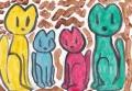 5猫の絵 アン
