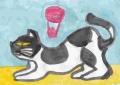 5猫のいる絵 (2)