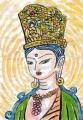 3観音菩薩立像奈良時代 (2)