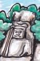 3大分県熊野磨崖仏不動明王