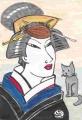 4猫のいる浮世絵写楽 (2)