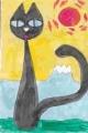 4猫のいる絵 (1)