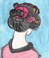 3日本髪結綿髷
