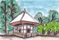 3観心寺楠公立て掛けの塔