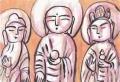 3十輪院本尊は石造の地蔵菩薩
