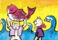 4ねこのおもちゃ絵 国芳一門 (2)