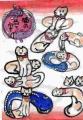 4ねこのおもちゃ絵 国芳一門の猫絵図鑑 (2)