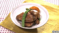 じゃが芋と鶏手羽中の中華風煮込み