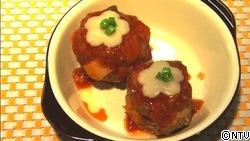 ふわつぶ食感☆鶏トマトボール