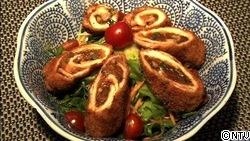 ソースin豚肉ロール