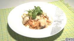 鱈と根菜のチーズフォンジュナポリタン