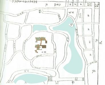 西賀茂山荘敷地&屋敷想像図