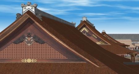 屋根と妻側比較