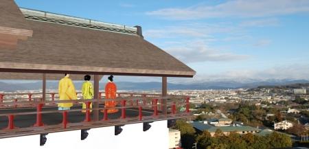 蔵座敷からの眺め2