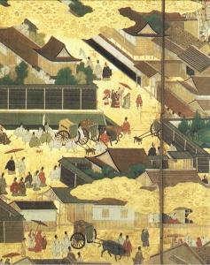 公家町(聚楽第行幸図)