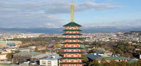 法勝寺八角九重塔と京都盆地2