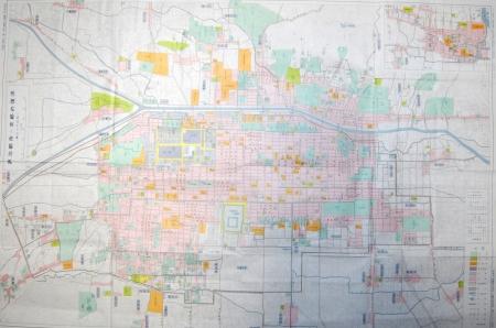 幕末慶応四年京都地図(大判)