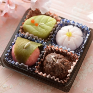 四つ入り和菓子