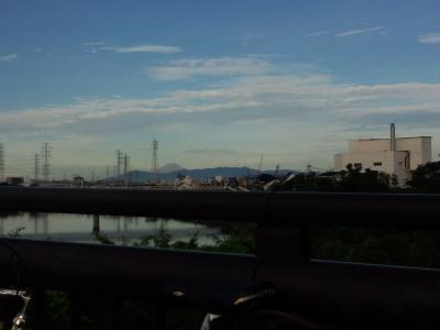 富士山 鶴見川