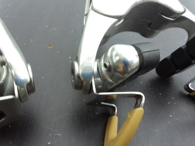 ブレーキワッシャを削る