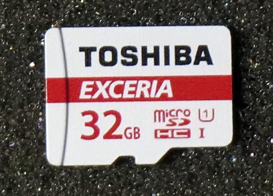 マイクロSDカード本体