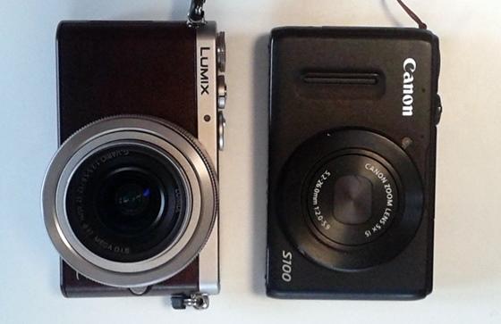 カメラ比較正面