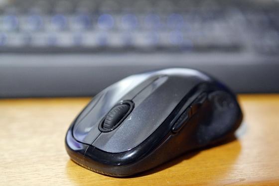マウスの動きが