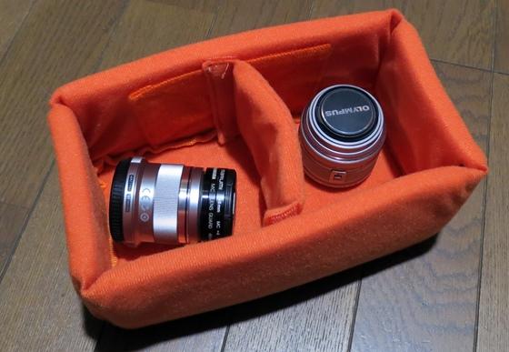 カメラインナーバッグ