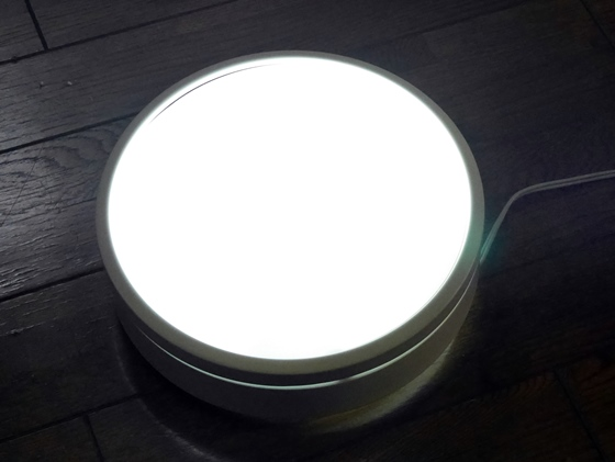 LED電球点灯