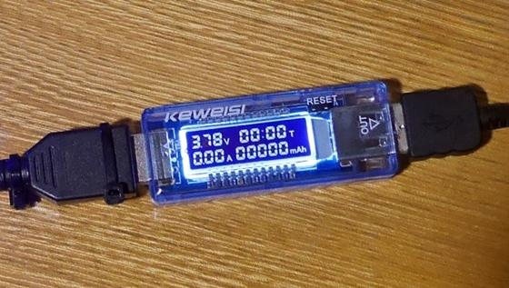 USB電流電圧チェッカー