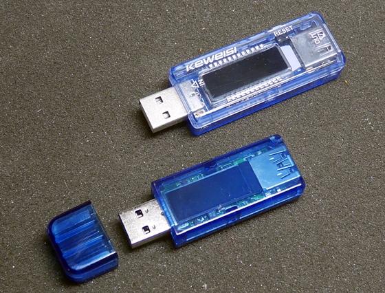 USB電流電圧テスター本体比較