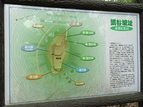 城跡配置図