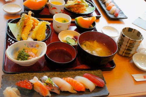 寿司ランチ1