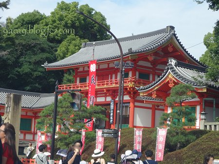 7月23日 八坂神社を